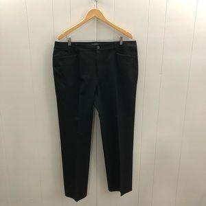 LAUREN Ralph Lauren Sz 16 Black Pants